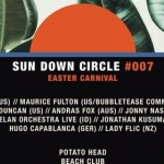 Sun Down Circle Easter Carnival